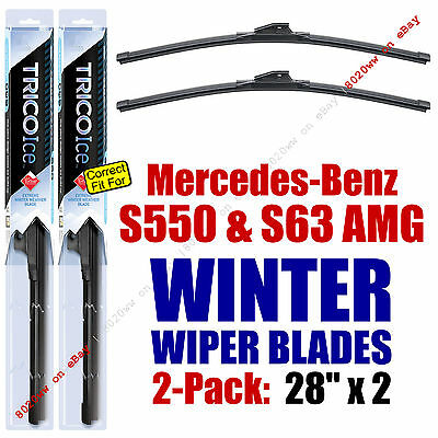 WINTER Wipers 2-Pack Premium Grade 2007 Mercedes-Benz S550 S63 AMG - 35280x2