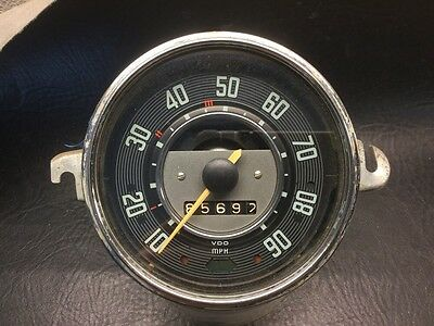 VW AirCooled Beetle Speedo  Without Fuel Gauge 68 Only  Manuf. date 07-67