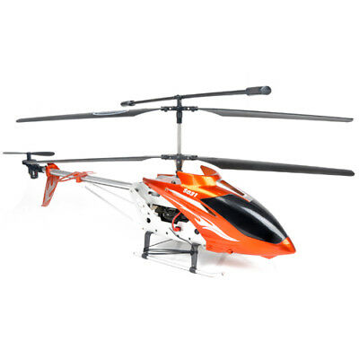 Syma S031G Gyro Metal Frame 3CH RC Helicopter RTG S031F Orange 2 speed