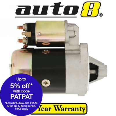 New Starter Motor to fit Nissan Homer F20 T20 2.0L Petrol H20 1976 to 1981