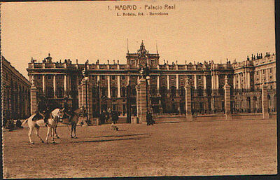 Antigua Postal Madrid Palacio Real Foto Roisin Old Postcard Postkarte    Cc01603
