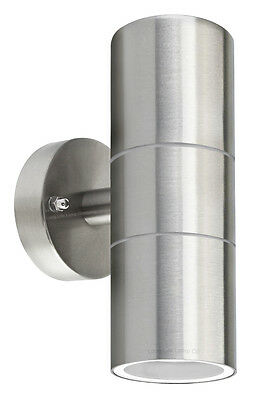 Stainless Steel Up Down Wall Light GU10 IP65 Double Outdoor Wall Light  ZLC03