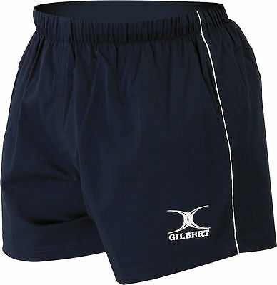 Gilbert Rugby Field Athletic Activities Adults Elasticated-Stretchy Match Short