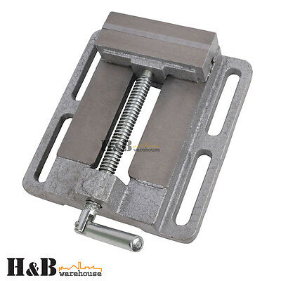 "4"" 100mm Professional Drill Press Vice Bench Vise Clamp Die Cast Iron T0157"