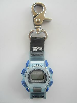 Back To The Future Blue Sports Quartz LCD Watch