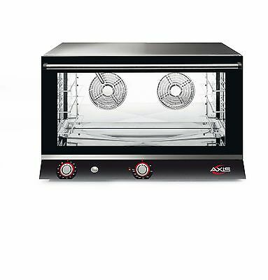 NEW Axis AX-824H Electric Convection Oven - Full Size Pan - 4 Trays / Shelves
