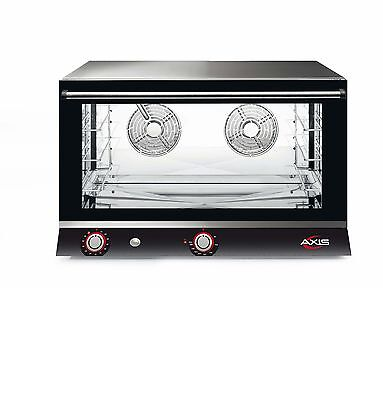 NEW Axis AX-824RH Electric Convection Oven - Full Size Pan - 4 Trays / Shelves