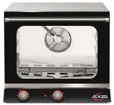 NEW Axis AX-513H Electric Convection Oven - 1/2 Size Pan - 3 Trays / Shelves