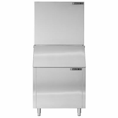 New Maxx Cold Ice Maker 1000 Lb Per Day Production Cube Head Only Mim1000