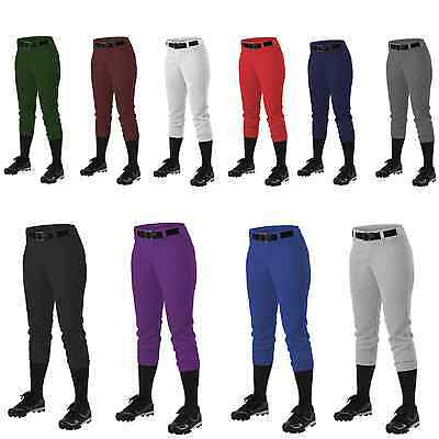 Alleson Athletic 605PBW Women's Softball Pants Fast pitch with Belt Loops