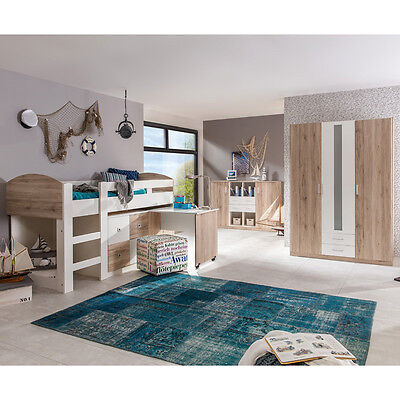 jugendzimmer komplett city mit 2 betten regal. Black Bedroom Furniture Sets. Home Design Ideas