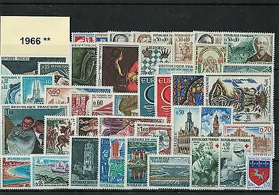 France Annee Complete 1966 ** Neuf