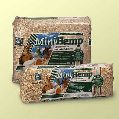 Mini Hemp pet bedding 48lt pack