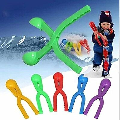 Pro Snowball Pliers Former Snowball Fights Kids Children Winter Outdoor Toy Tool