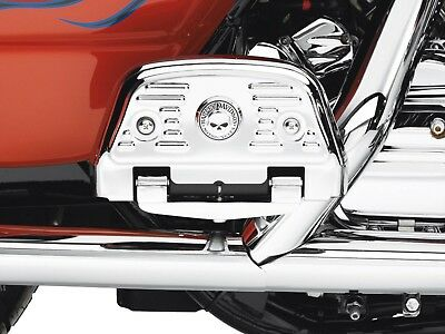 Harley skull touring softail passenger floorboard footboard cover covers kit