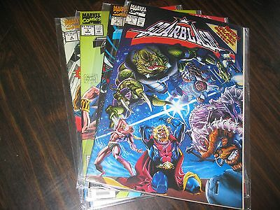 Starblast #s 1 2 3 4 comic books - Marvel Comics
