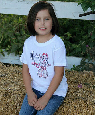 Rodeo for Girls Vintage 1946  Western T-Shirt Youth Size NEW