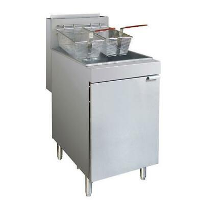 Gas Deep Fryer, Twin 25L Vat, Superfast, Commercial Kitchen Equipment