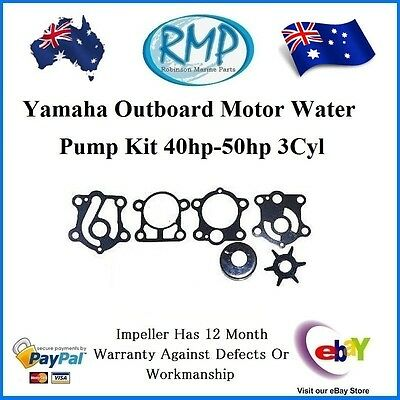 A Brand New Yamaha Outboard Water Pump Kit 40hp-50hp 3Cyl # R 6H4-W0078-00RMP