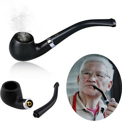 Small Durable Vintage tool Gift Smoking Cigarette Bent Pipe Tobacco Cigar Pipes