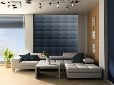 3D WALL CEILING PANELS POLYSTYRENE TILES (Pack of 32) 8 Sqm - PILLOWS 3D