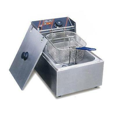Electmax Benchtop Electric Fryer, Single 5.5L, Commercial Kitchen Equipment