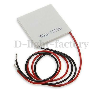 New 5/10x TEC1-12706 Heatsink Thermoelectric Cooler Cooling Peltier 12V 60W 6A