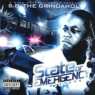 S.B. the Grindaholik - State of Emergency [New CD]