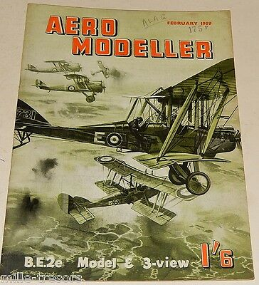 AERO MODELLERS February 1959 Plans PROVOST + ROYAL AIRCRAFT Factory + BOOM