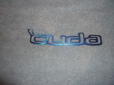 Plasma cut CUDA logo Painted Kandy Blue Metal Man Cave/Garage Wall Art