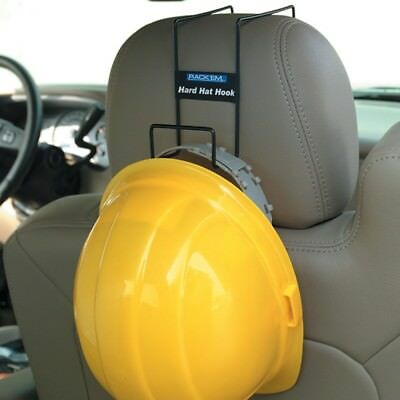 Over-the-Seat Hard Hat Hook Rack