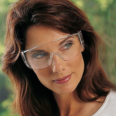 2a2844ef55 N-SPECS TRI-STAR OTG Clear Lens Over-the-Glass Safety Glasses Each ...