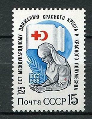 30525) RUSSIA 1988 MNH** Red Cross and Red Crescent 1v.