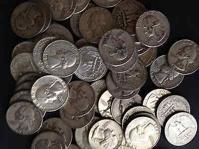 1/2 Troy Pound Lb Bag 90% Silver Quarters Coins U.s. Minted Pre 65 One 1