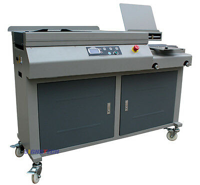 A3 Automatic Perfect Paper Binding Machine With Side Glueing,Unsewn Book Binder