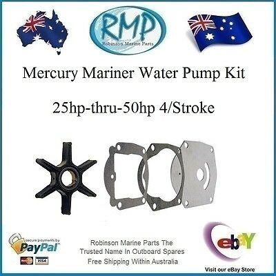 A Brand New Water Pump Kit Mercury Mariner 25hp-thru-50hp 4/Stroke # R 821354A2