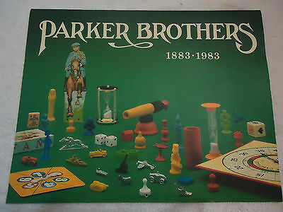 Parker Brother calendar 1883 - 1983 Limited Edition  1 of 2000