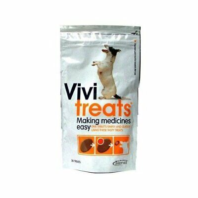 Vivi Treats For Dogs Making Medicines & Tablets Easy 30 Treats (Pill Giver)