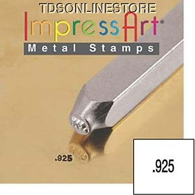 "Metal Design Stamp By Impressart 1.5mm "".925"" Quality Mark"