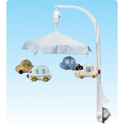 Cars Vehicle Themed Musical Baby Cot Mobile Gift Box
