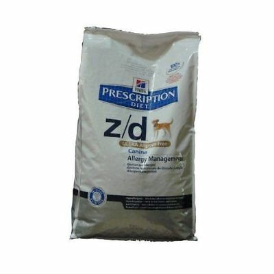 Hills Canine Z/D Allergen Free Prescription Diet 10 Kg