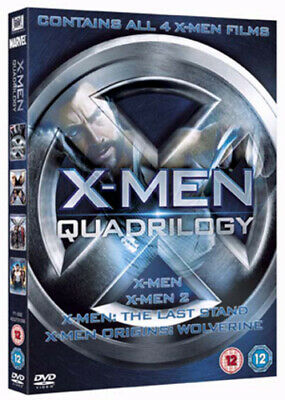 X-Men Quadrilogy DVD (2009) Ryan Reynolds, Singer (DIR) cert 12 4 discs