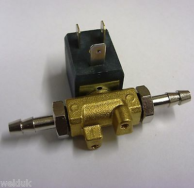 Mig/ Tig Welding Gas Solenoid with Tails E63
