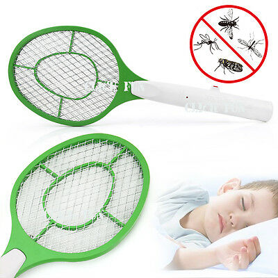 Electronic Fly Swatter Mosquito Bug Insect Kill Zapper Racket RANDOM COLOR OZ