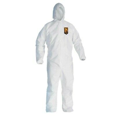 KLEENGUARD A10 Hood Elastic Wrists & Ankles Disposable Coveralls Each