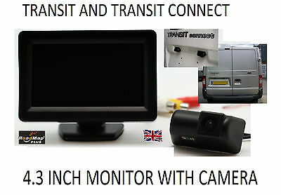 ford transit and Transit connect Rear Reversing Reverse camera &  Monitor 047