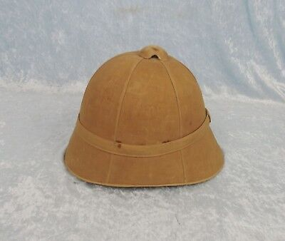 Late Victorian / Boer War Period British Army Pith Helmet