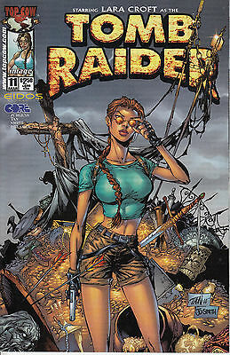 LARA CROFT: TOMB RAIDER 11...NM-...2001...Billy Tan Artwork...Bargain!