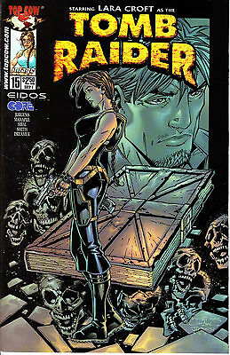 LARA CROFT: TOMB RAIDER 15...NM-...2001...Francis Manapul Artwork...Bargain!