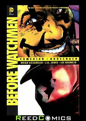 BEFORE WATCHMEN COMEDIAN RORSCHACH GRAPHIC NOVEL New Paperback Collects #1-6